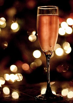 Champagne, Holiday, New Year, Glass, Party, Celebration