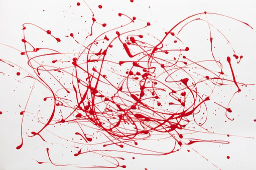 Paint, Red, Creativity, Painting, Abstract, Design