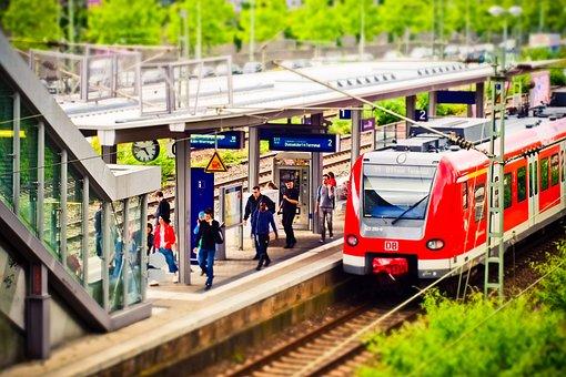 Railway Station, Train, Railway, Travel, Rails, Traffic