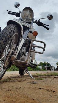 Bike, Bullet, Motorcycle, Enfield, Ride, Royal, Riding