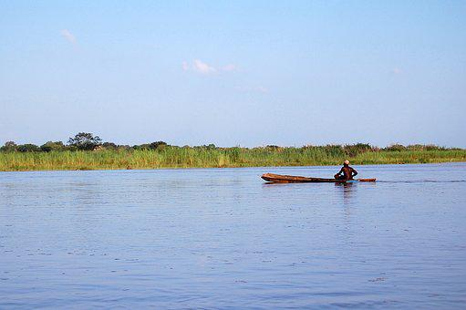 Africa, The Natives, River, Boat