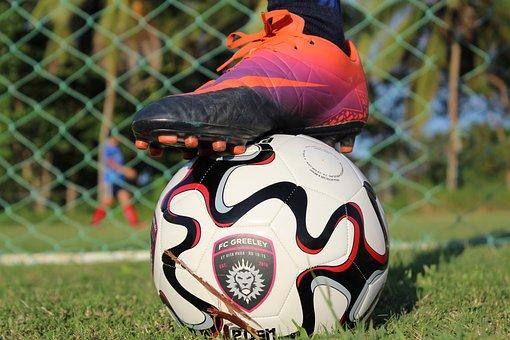 Custom, Soccer, Ball, Cleat