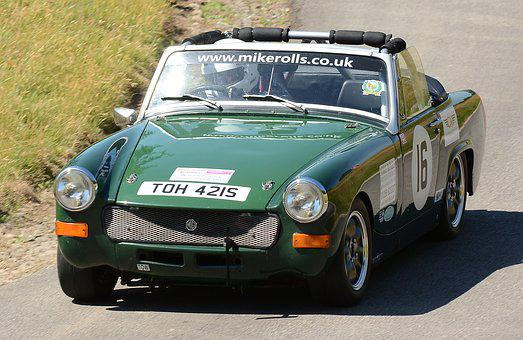 Motorcar, Mg, Midgetcar, Hillclimb, Speed, Motorsport