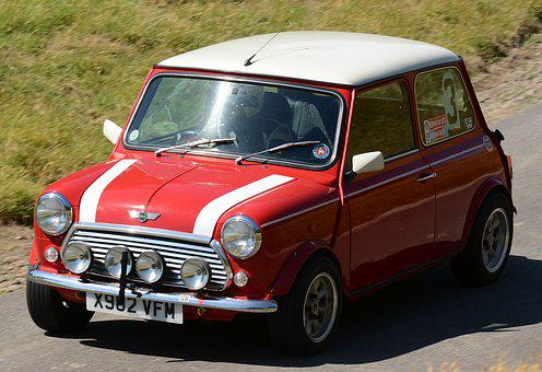 Motorcar, Mini, Hillclimb, Speed, Motorsport, Racing