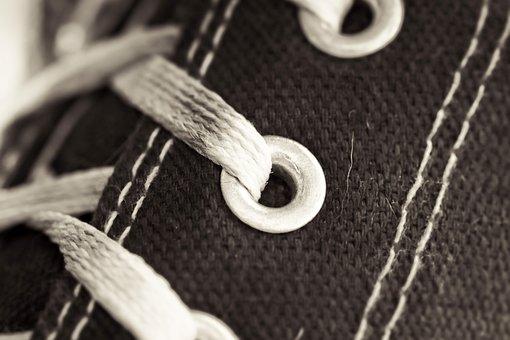 Sneaker, Canvas, Shoes, Shoelaces, Sports Shoes, Sport
