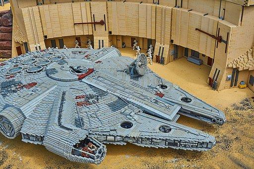 Legoland, Starwars, Kriegder Star, Lego Blocks