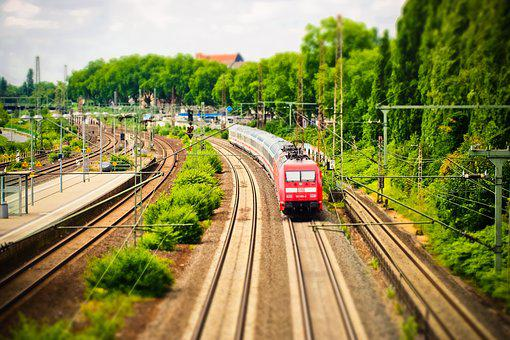Train, Gleise, Railway, Seemed, Transport, Travel