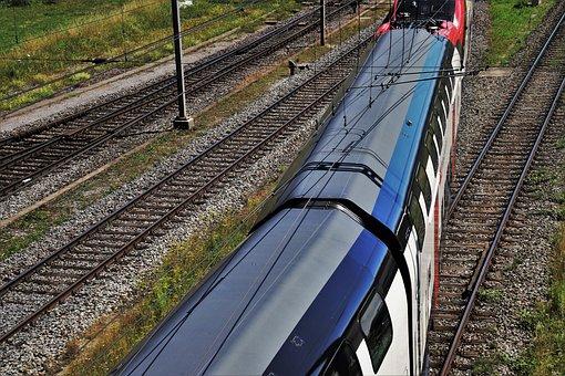 Pull Station, Rails, Train, Tracks, Traction, Railway
