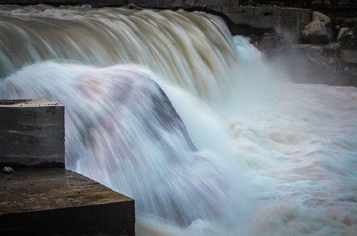 Waterfall, Kutton Waterfall, Kashmir, Pakistan