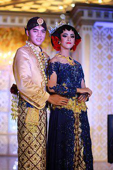 Java, Wedding, Traditional, People, Bride, Ethnic