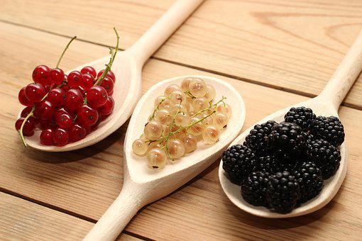 Berries, Currants, Red, White, Blackberries, Trowel