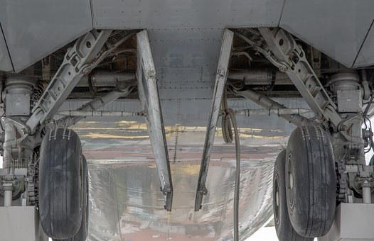 Chassis, Aircraft, Landing, Wheels, Fly, Wheel, Flap