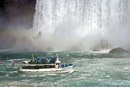Maid, Mist, Niagara, Falls, Boat, Tour