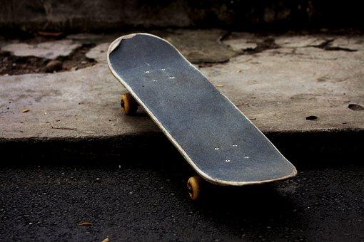 Skateboard, Skateboarding, Outdoor, Boy