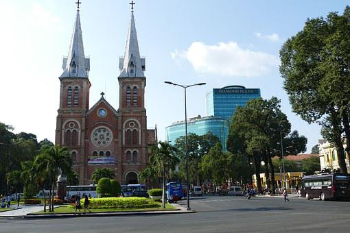 Vietnam, Saigon, Historically, Building