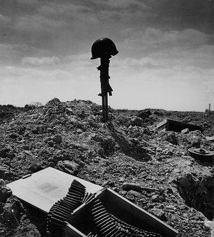 Soldier's Grave, Grave, War, Buried, Favor