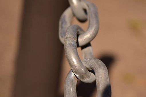 Chain, Chain Link, Links Of The Chain, Metal, Iron