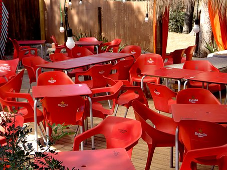 Chairs, Street Cafe, Gastronomy, Seat, Table, Cafe