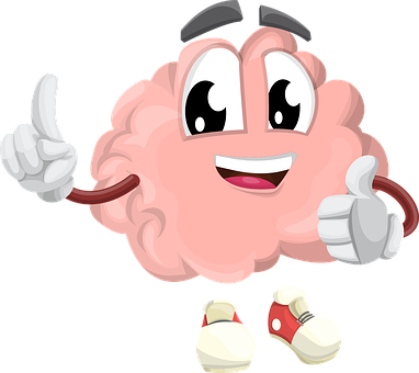 Brain, Character, Organ, Smart, Eyes, Hands, Shoes