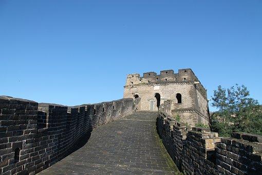The Great Wall, The Great Wall At Mutianyu, China