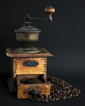 Coffee, Coffee Grinder, Mill, Roasted, Coffee Bean