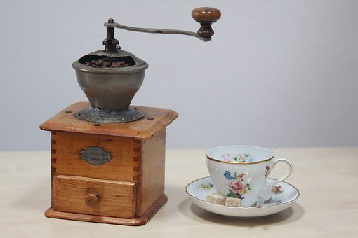 Coffee Mill, Old Coffee Mill, Old Coffe Cup, Coffee Cup