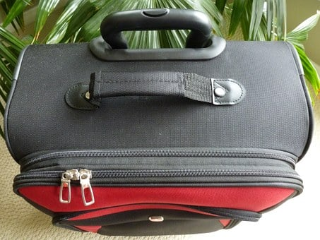 Luggage, Suitcase, Baggage, Bag, Compartment, Zip