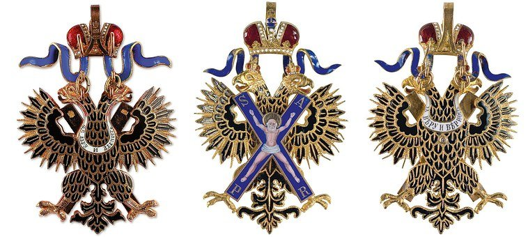 Russian Empire Order, Decoration, Cross