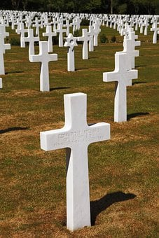American, Army, Cemetery, Cross, Dead, Force, Funeral
