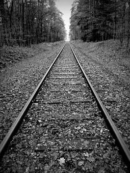 Gleise, Track Bed, Rails, Railway Tracks, Railway Rails