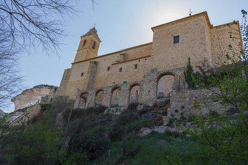 Church, Monument, Landscape, Spain, Tourism, Historical