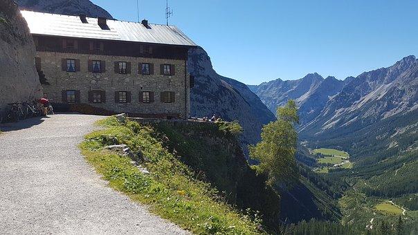 Mountain, Hut, Alm, Vacation, Mountain Hut, Tyrol