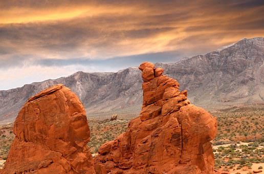 Red Rocks, Las Vegas, Valley Of Fire, National Park