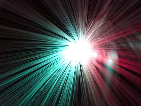 Ufo, Light, Lighting, Long Time Lighting, Ufolampe