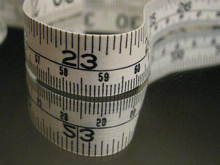 Measure, Measuring Tape, Measurement, Centimetres