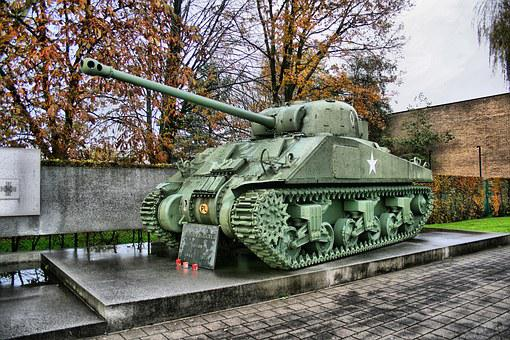 Tank, Monument, Weapon, Canon, Sculpture, Europe, Wwii