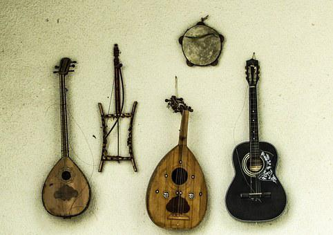 Cyprus, Musical Instruments, Traditional, Lute, Lyre
