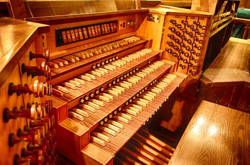 Pipe Organ, Organ, Church Organ, Musical, Instrument
