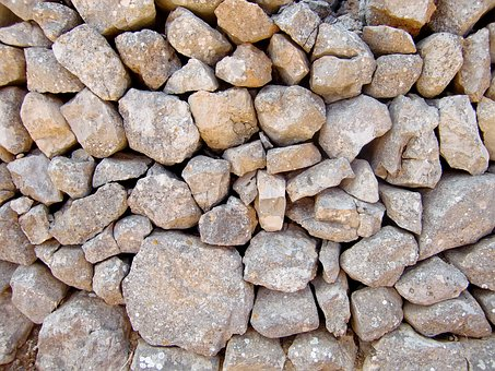 Wall, Wall Stones, Natural Stones, Boulder, Structure