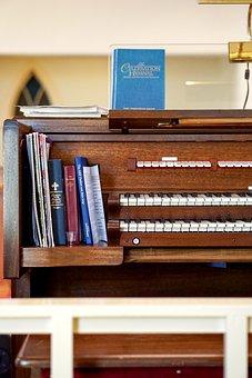 Organ, Music, Hymns, Church, Instrument, Religious