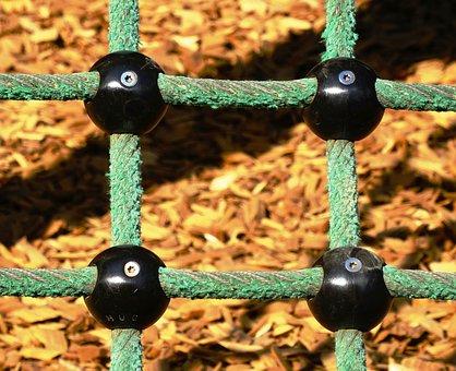Playground, Web, Children's Playground, Climbing Net