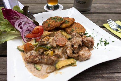 Zurich Veal, Rösti, Röschti, Potato Specialty
