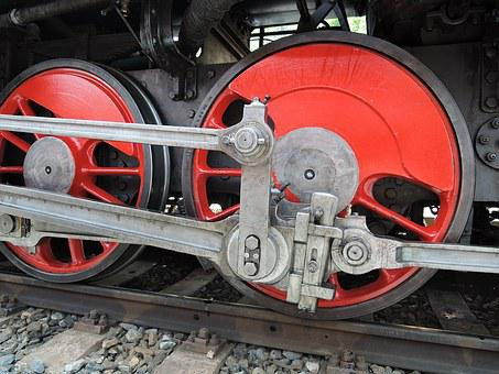 Locomotive, Train, Wheels, Railway, Steam Locomotive