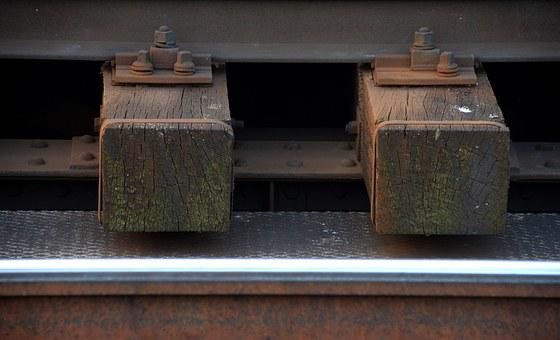 Zweisam, Railway, Threshold, Train, Detail