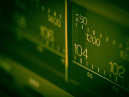 Frequency, Radio, Scale, Setting, Wheel, Regulate