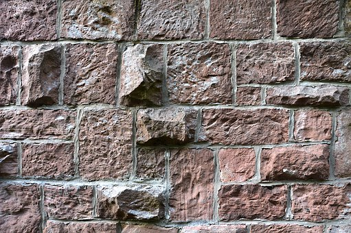 Texture, Masonry, Wall Stones, Sand Stone, Joints, Old