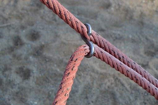 Rope, Tied, Cord, Strong, Security, Strength, Twisted