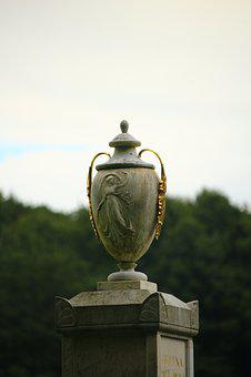 Vase, Monument, Sculpture, Art, Castle Park