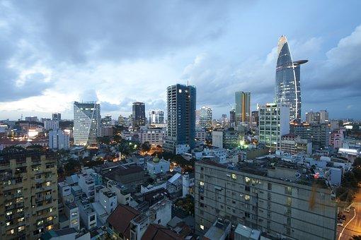 Ho Chi Minh City, Saigon, Vietnam, Bitexco, Urban