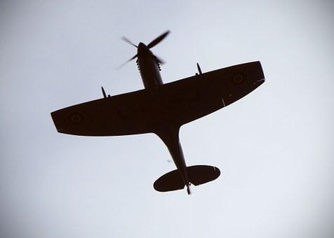 Spitfire, Plane, Av, Fighter, Airplane, War, Air
